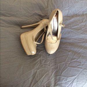 Chinese Laundry Patent Mary Jane Heels